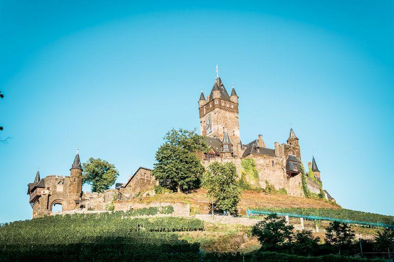 Die Schonsten Burgen Der Mosel Urlaub Mosel Burg Ausflug