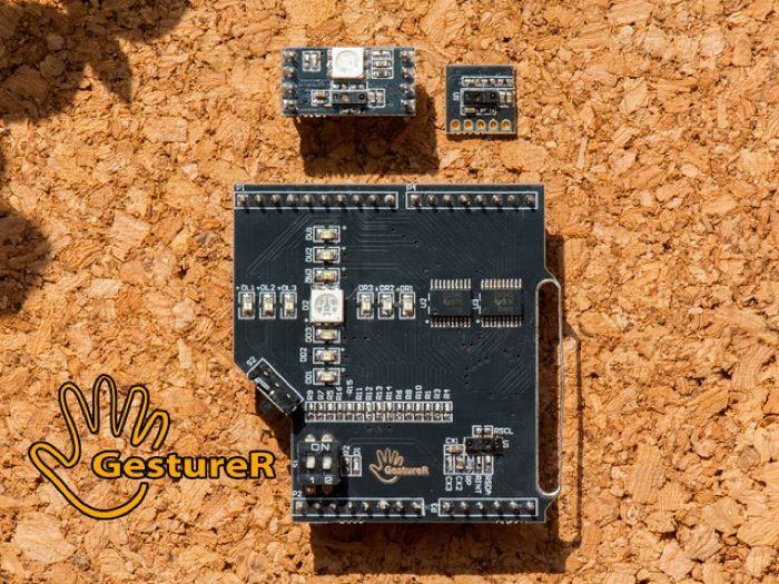 Electronic Compass Circuit Kmz52 Magnetic Field Sensor Compass Circuit