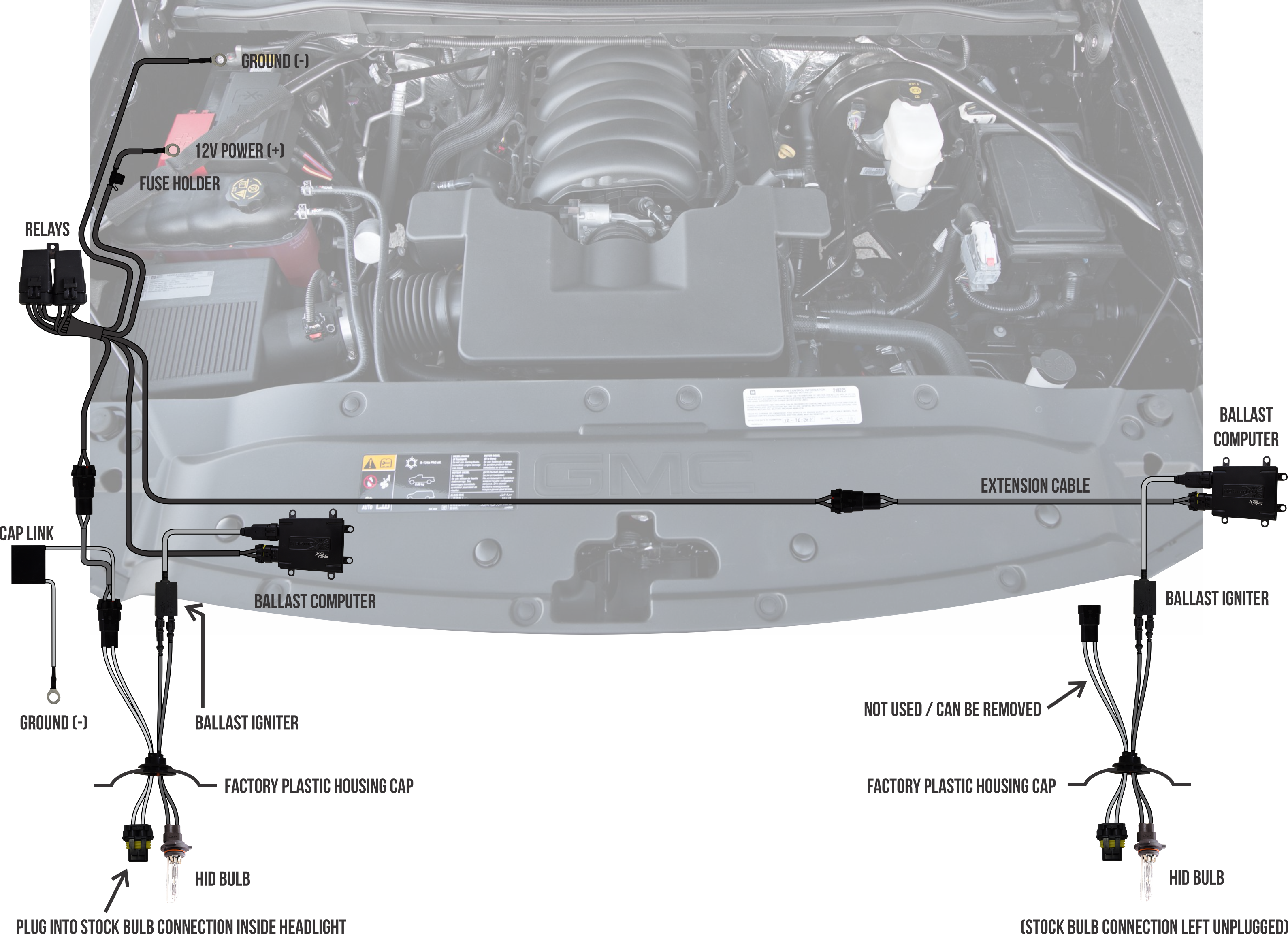 medium resolution of 2014 gmc sierra headlight retrofit 2014 gmc sierra hid kit