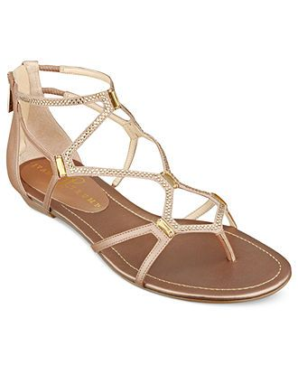 Ivanka Trump Shoes, Kalia Flat Sandals - Sandals - Shoes - Macys