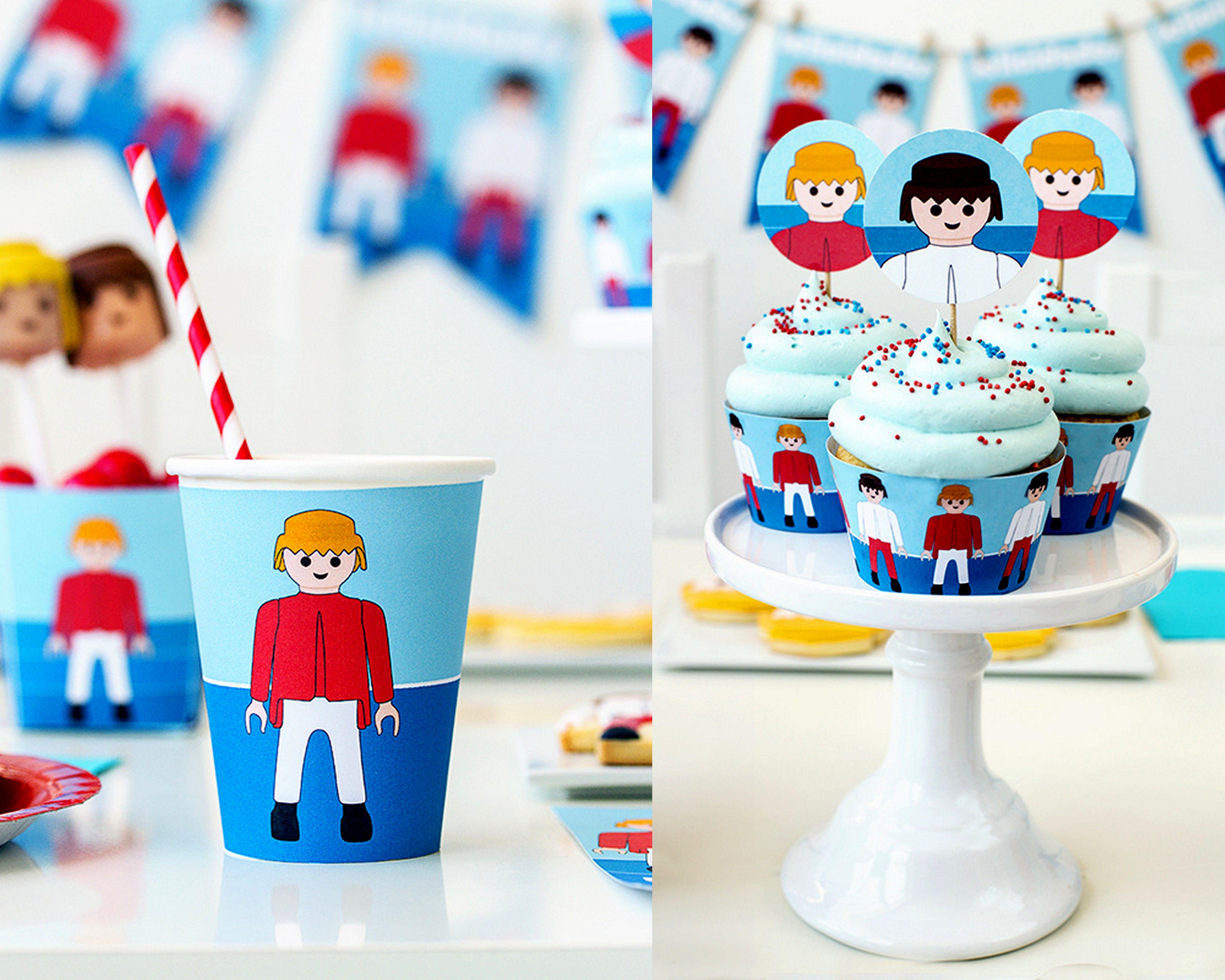 Kit imprimible para fiesta playmobil ideas cumplea os - Playmobil samu ...