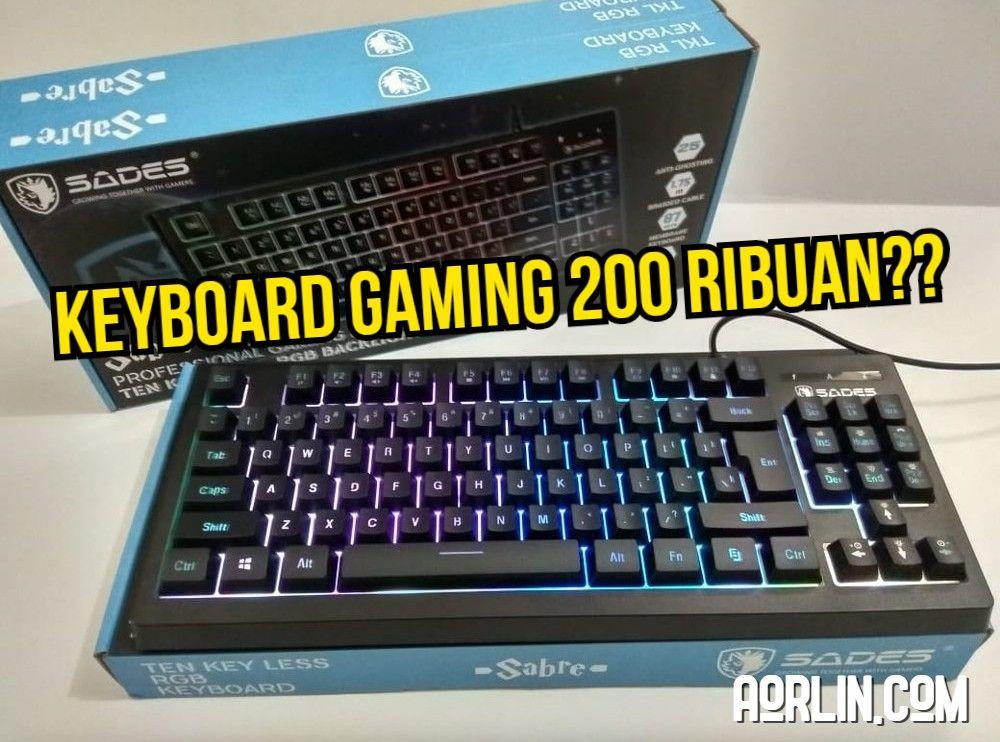 Review Keyboard Gaming Sades Sabre Harga Murah Berkualitas Colokan Pengetahuan Usb