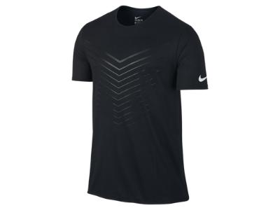 Nike Dri Fit Sublimated Running T Shirt Men's Stadium
