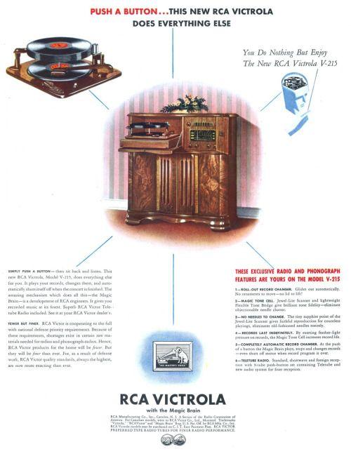 RCA Victrola - 19420309 Life