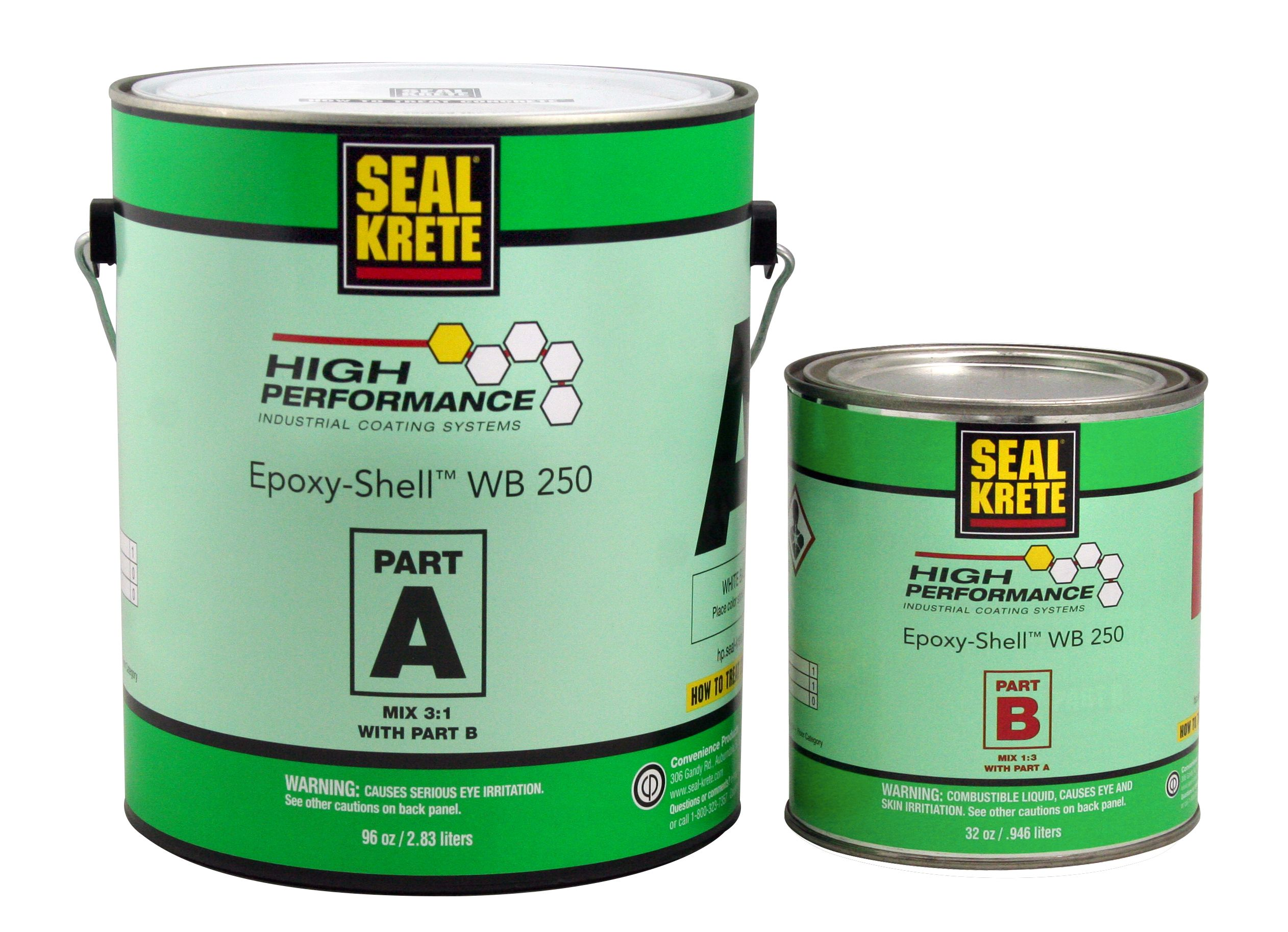 New Epoxy Shell Wb250 Is A Two Part Premium Water Based Epoxy Coating With Solvent Based Performance Characteristics World Of Concrete Epoxy Performance
