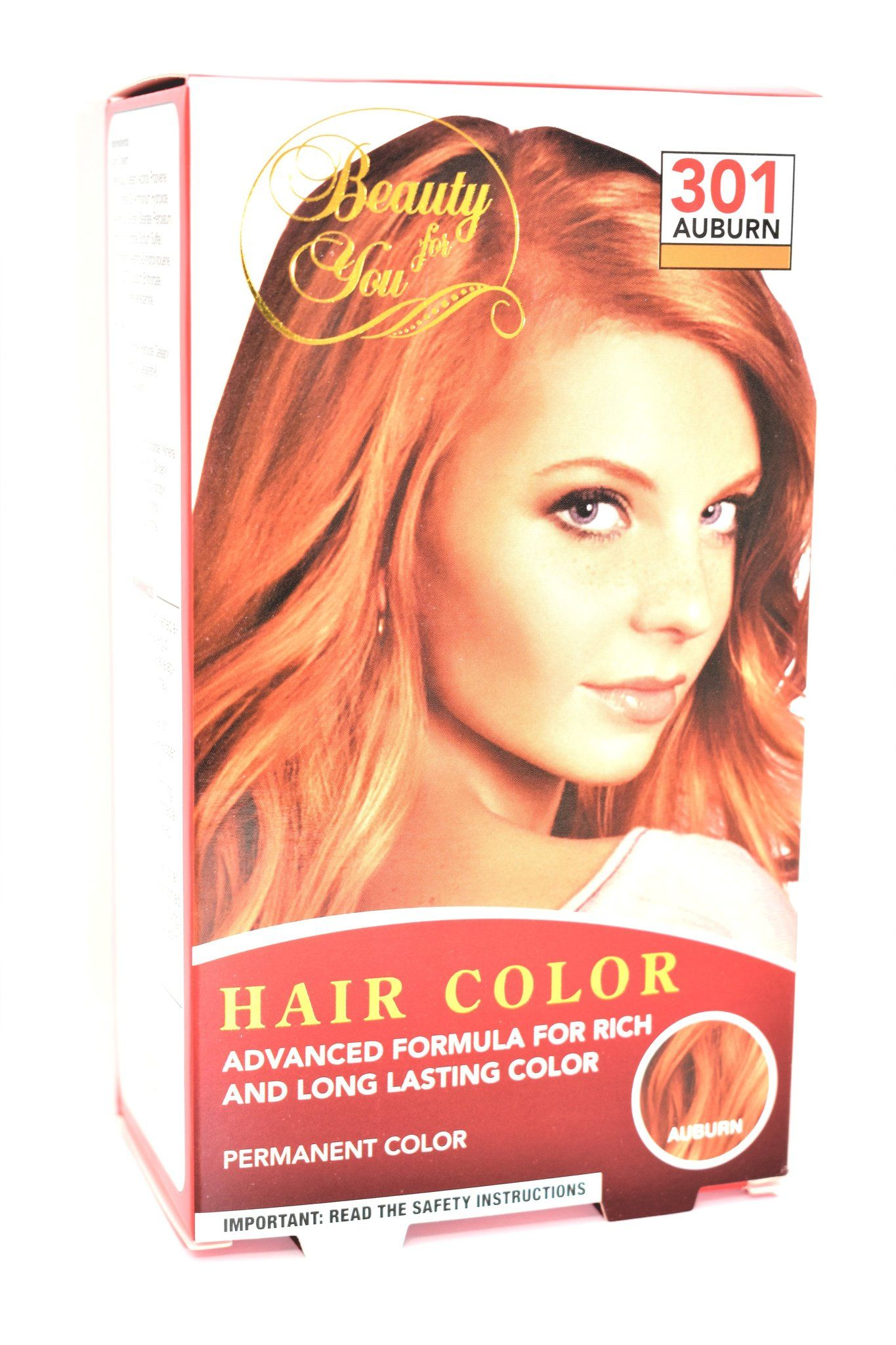 Beauty For You 301 Auburn Permanent Hair Color Hair Color