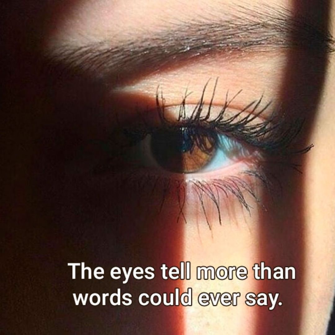 Tradução Os Olhos Dizem Mais Do Que As Palavras Poderiam