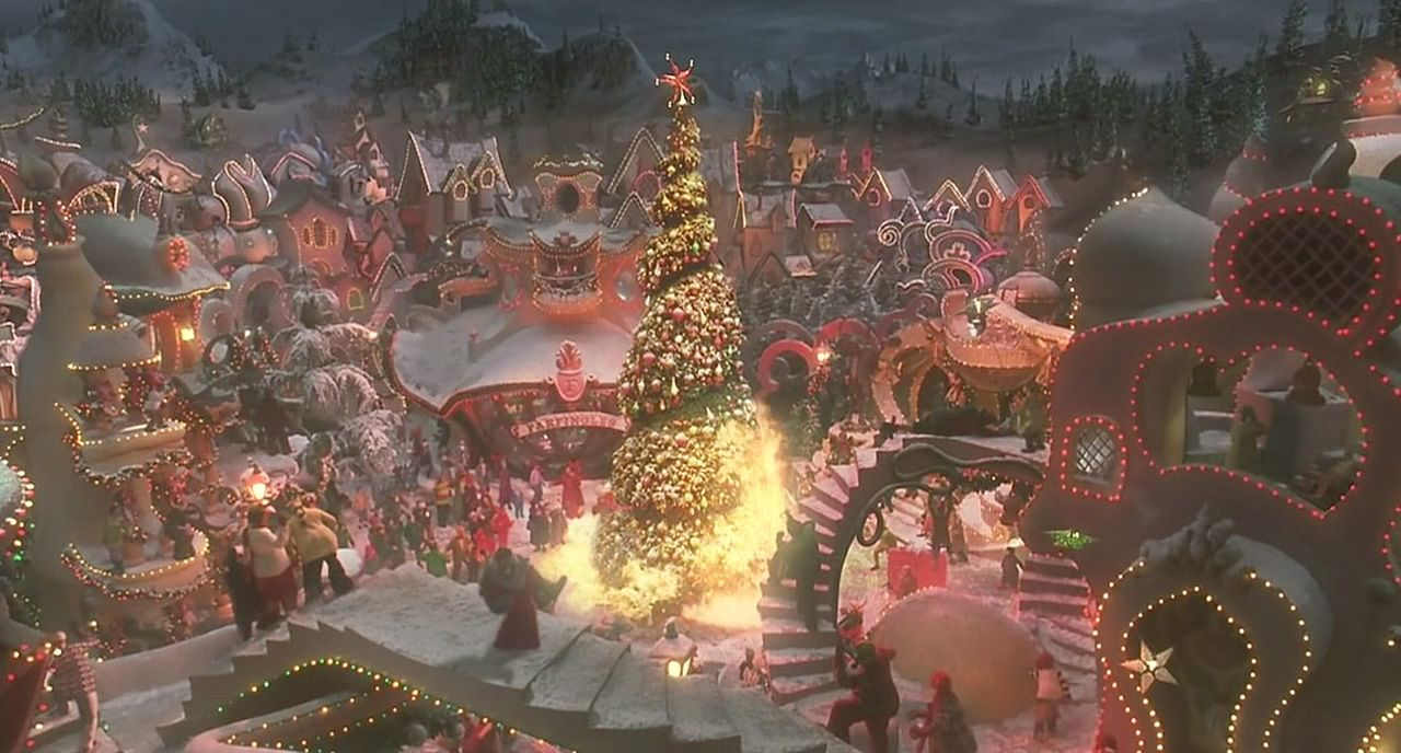 Art Departmental Family Christmas Movies Grinch Stole Christmas Christmas Wallpaper