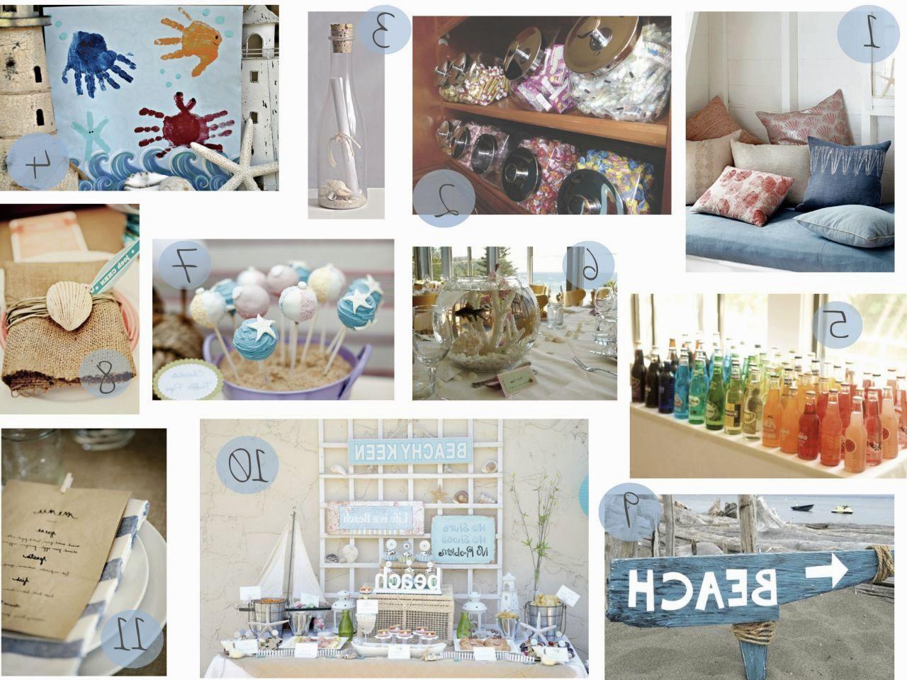 Beach Theme Party Decorations Ideas Part - 43: DIY Beach Theme Party Decorations Ideas