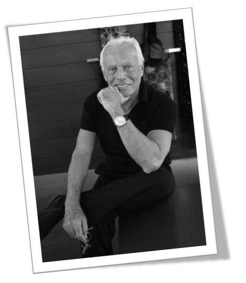 Giorgio armani guia de dise adores de moda biografia for Casa de disenadores