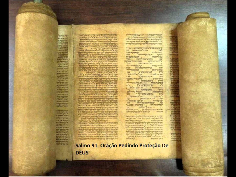 Salmo 91 -   Oração pedindo proteção de DEUS  -    A Biblia Narrada por ...