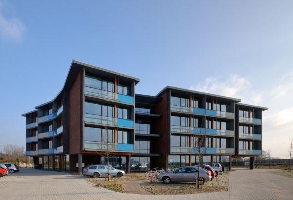 Schakelbare kantoorunits in Nijkerk. Ontwerp: Cita architecten