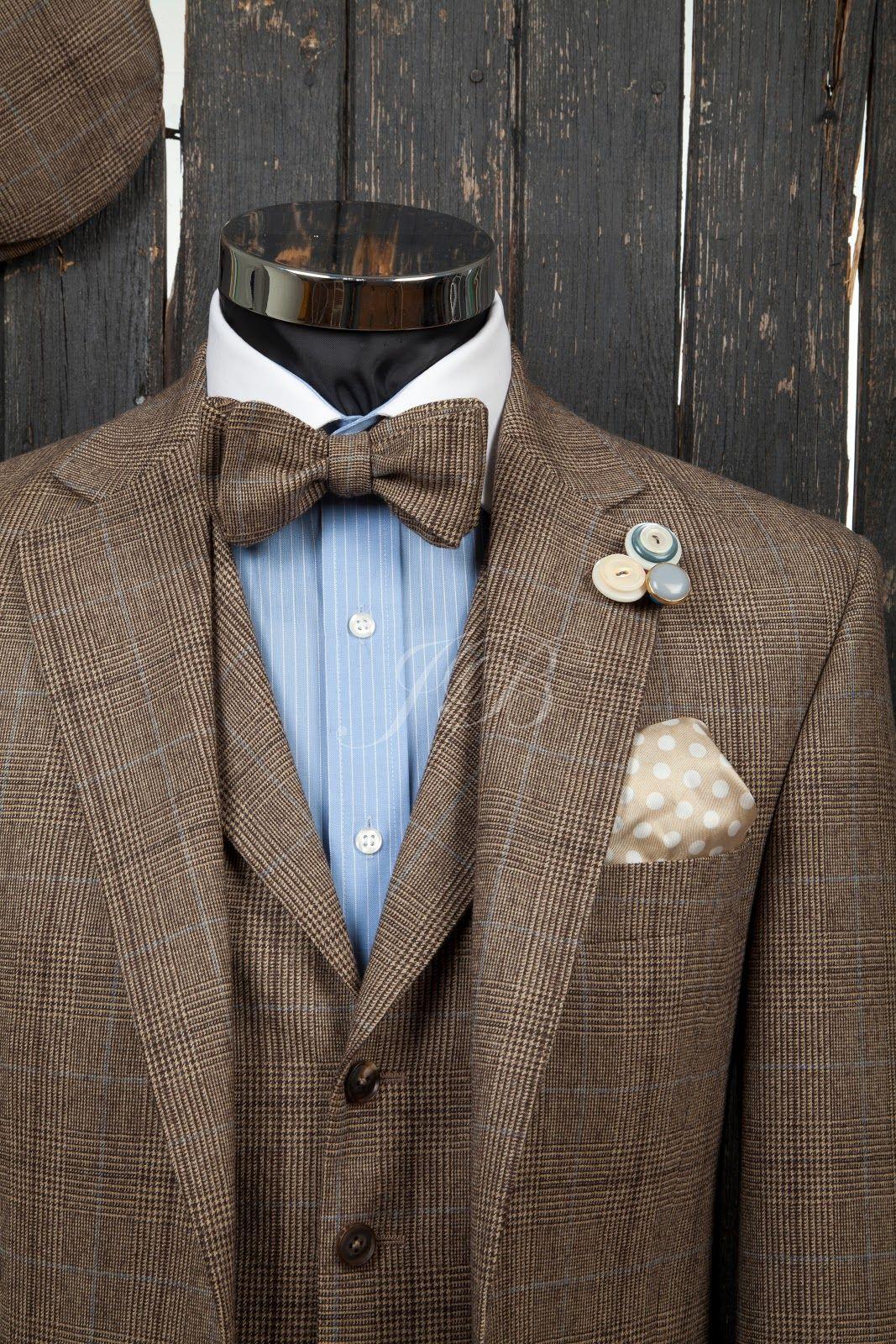 wedding groomsmen tweed | wedding suit with a bow tie, vintage ...