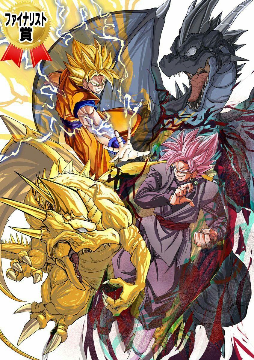 Poster A3 Dragon Ball Super Goku Super Saiyan Rose Manga Anime Cartel 01