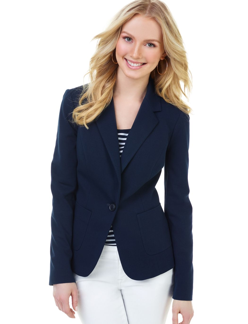 Find great deals on eBay for womens navy blue blazer. Shop with confidence.