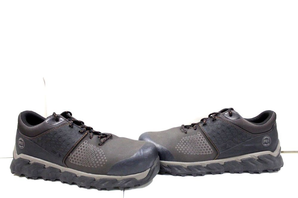 38db3a00edf7 O-203 Men s Timberland Pro Ridgework Low Composite Toe Work shoes size 11 W