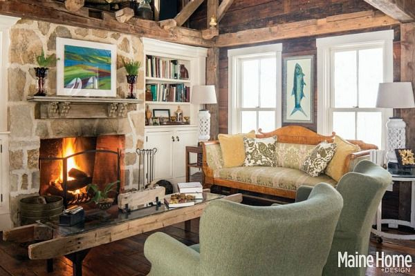 A Classic White New England Farmhouse In Maine Design Magazine