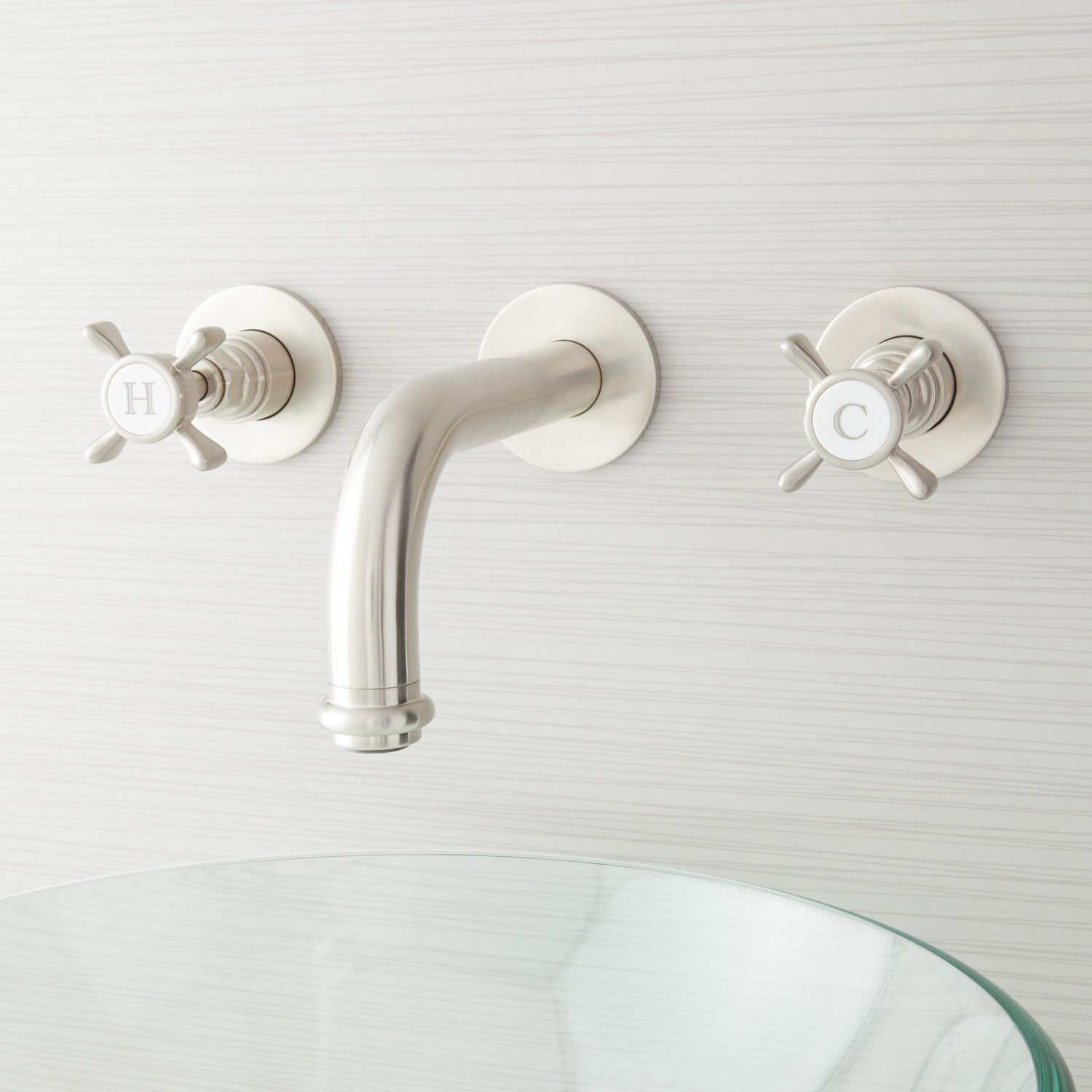 Waterson Wall-Mount Bathroom Faucet | 11 pep isa bath | Pinterest ...
