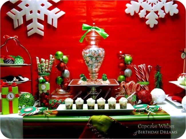 Surprising Christmas Candy Buffet Table Spaceshipsandlaserbeams Com Download Free Architecture Designs Oxytwazosbritishbridgeorg