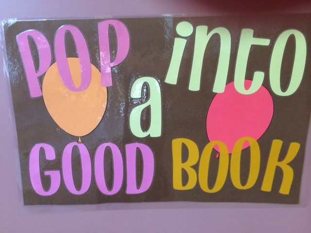 Follansbee Front Desk: Pop into a Good Book (May 2015)