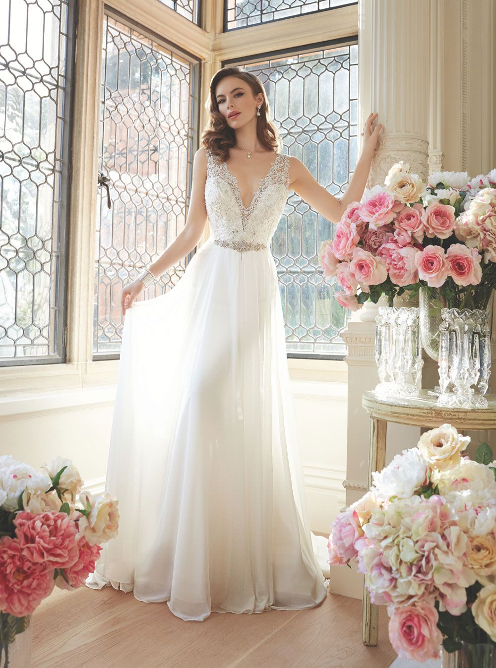Wedding Dress Y11633 from Spring 2016 Sophia Tolli Bridal Collection ...