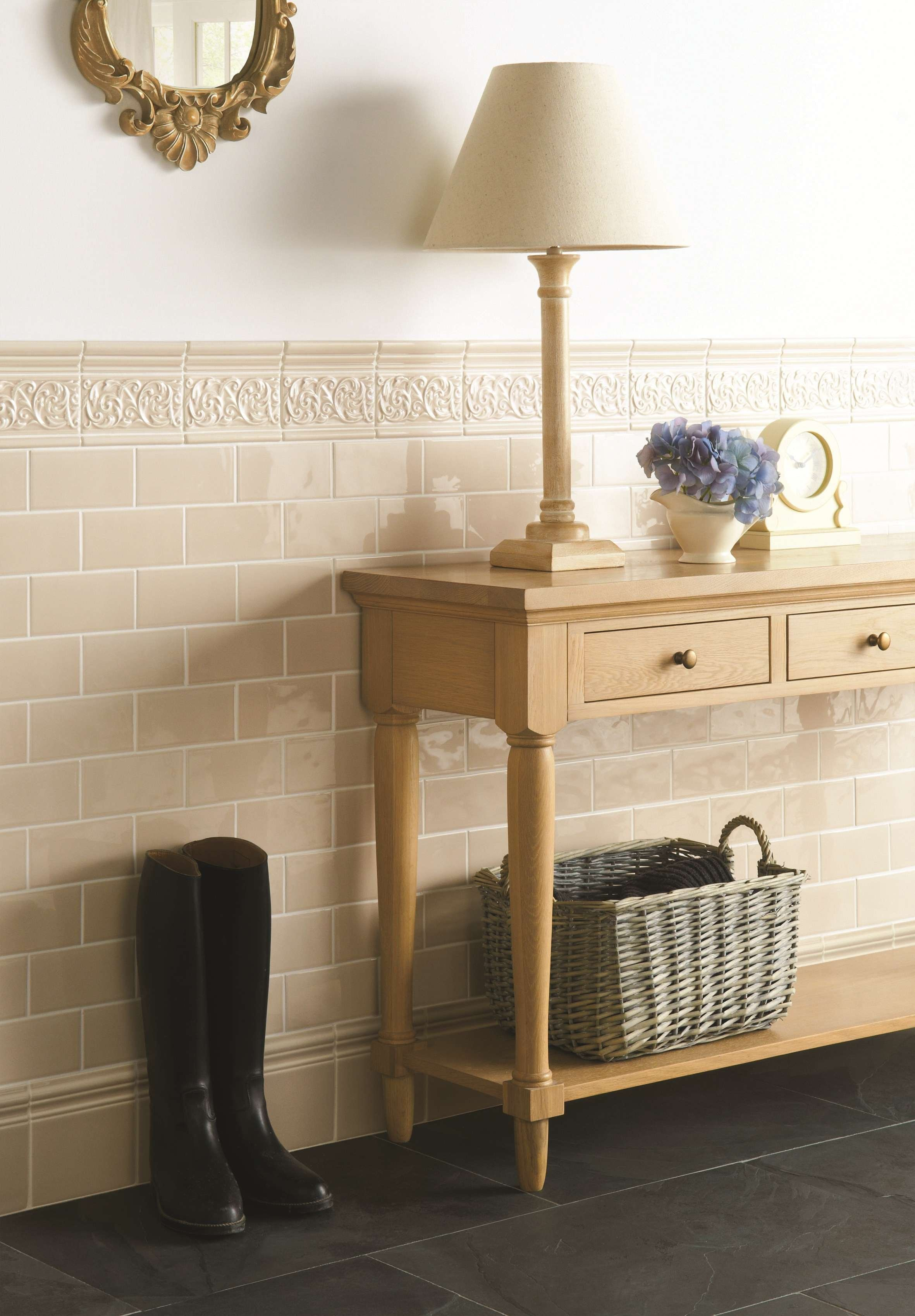 Hadleigh gloss field tiles coupled with decorative mouldings are a hadleigh gloss field tiles coupled with decorative mouldings are a perfect and practical choice dailygadgetfo Choice Image