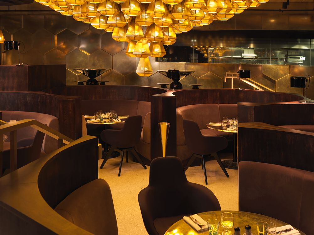 Innovatives Decken Design Restaurant. luxury restaurant dining ...