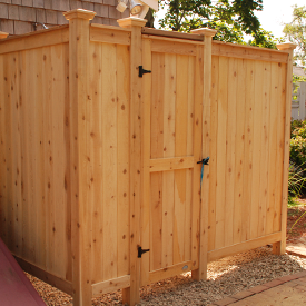 Cedar Outdoor Shower Kits With Images Outdoor Shower Kits