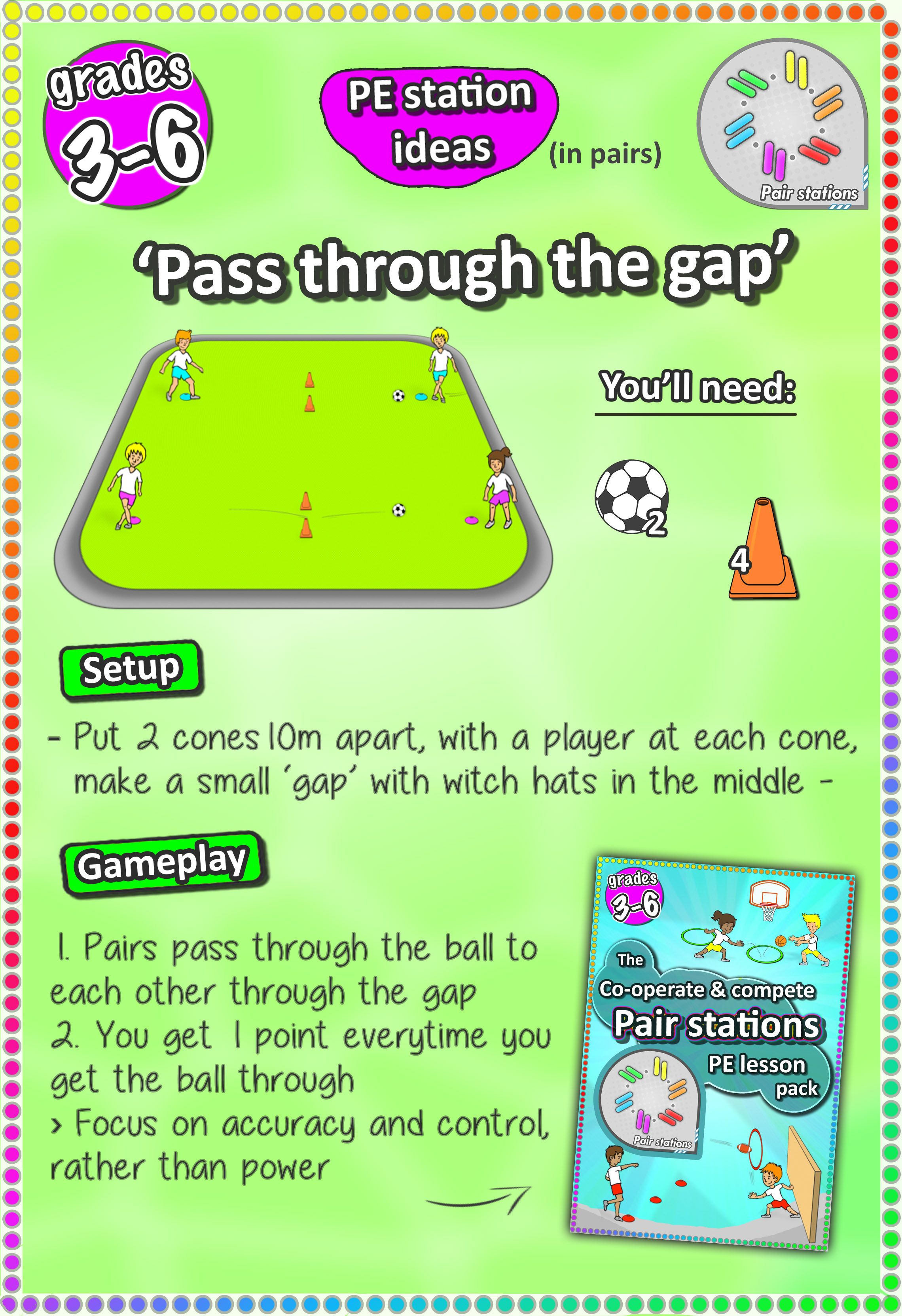 Soccer Skill Station Games For Kids And Elementary Grades 3 6 Check More Pe Lesson Ideas Here Soccer Drills For Kids Coaching Kids Soccer Gym Games For Kids