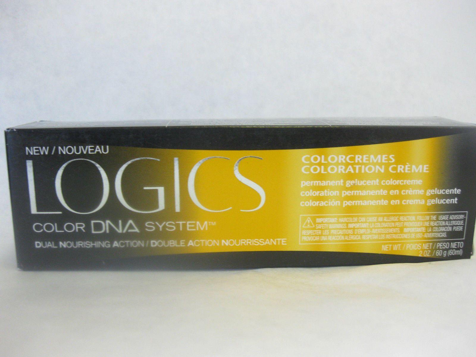 Matrix Logics Dna Colorcremes Permanent Hair Color Yellow Box