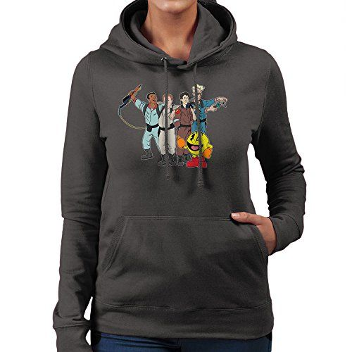 ghostbusters and pac man womens hooded sweatshirt learn more by visiting the image link