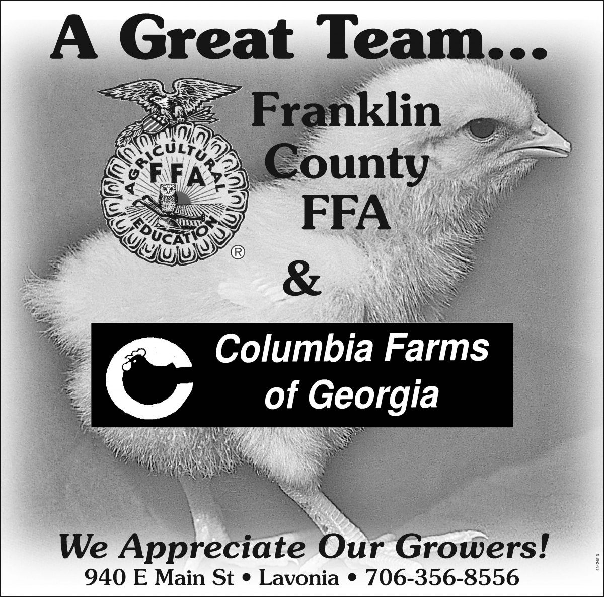 Franklin County FFA & Columbia Farms of Georgia    We Appreciate Our Growers! | House of Raeford - Columbia Farms of Georgia - Lavonia, GA #georgia #ElbertonGA #shoplocal #localGA