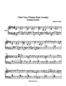 I See You by Leona Lewis   violin music   Leona lewis