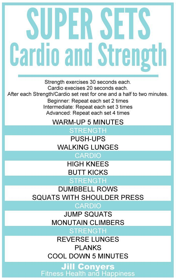 #jillconyerscom #strength #fitness #workout #move… #cardio #super #sets #andSuper Sets: Strength and...