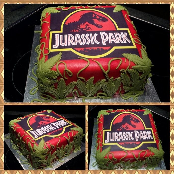 Jurassic Park Cake For All Your Cake Decorating Supplies Please