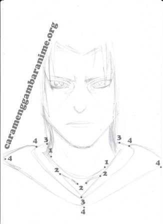 Cara Menggambar Anime Cara Menggambar Anime Manga Menggambar Manga Untuk Pemula Cara Menggambar Manga Menggunakan Pensil Itachi Uchiha Uchiha Itachi