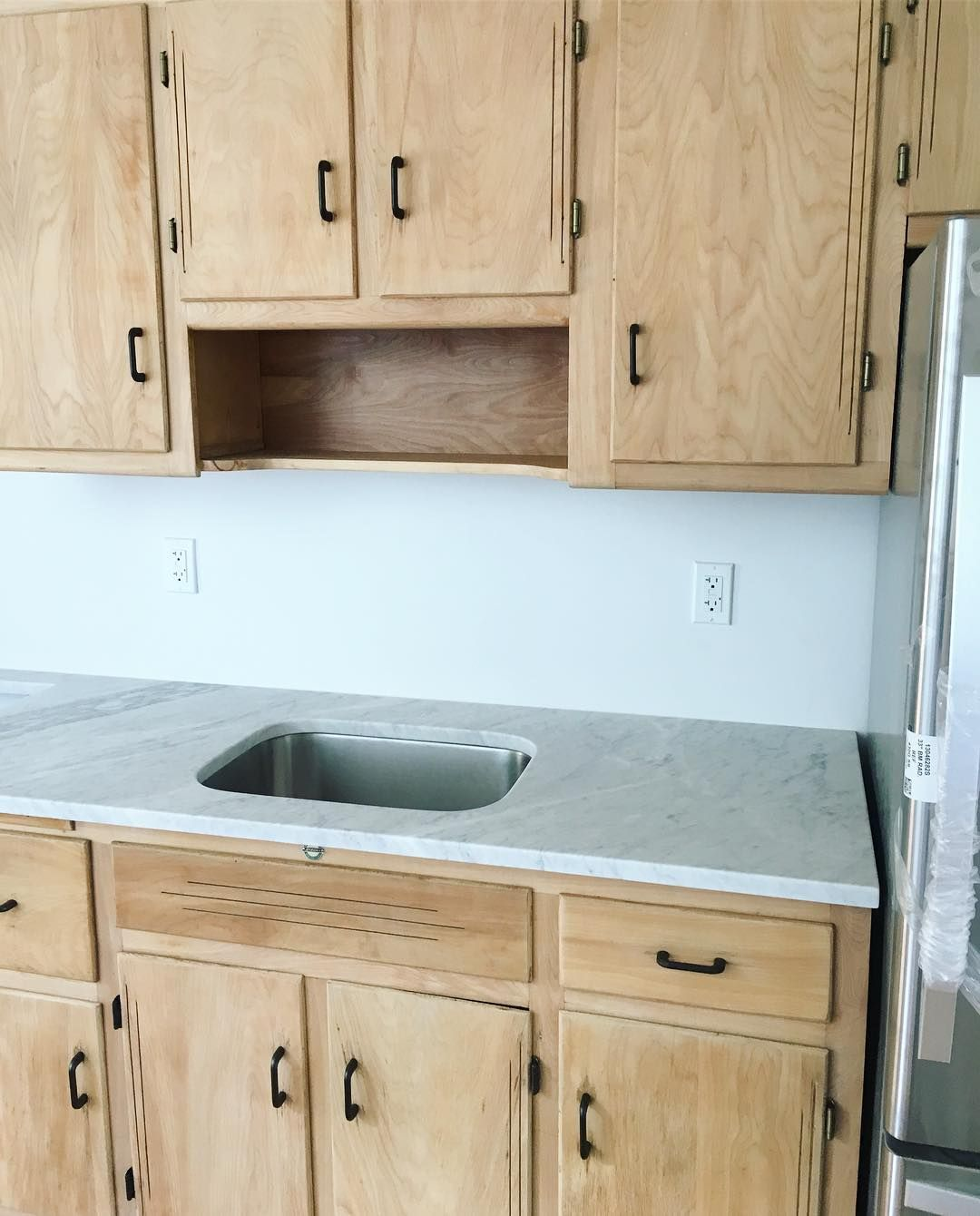 Stripping Kitchen Cabinets Vintage kitchen cabirehab! We stripped and sealed these