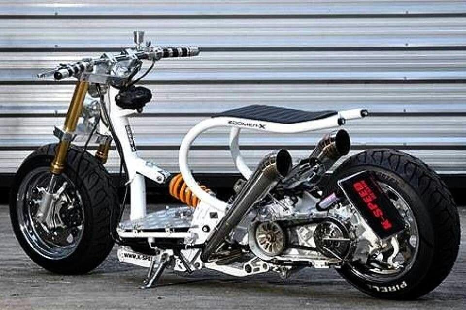 Zoomer X Scooter Custom Honda Scooters Custom Mini Bike
