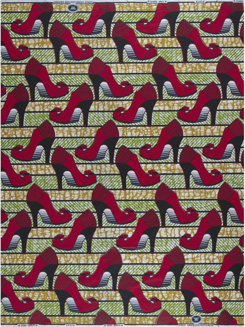 Shoes. Red Heels. #Print #AfricanPrints #Textile #Fashion #Design #AfricanFashion @ethicalfashion1