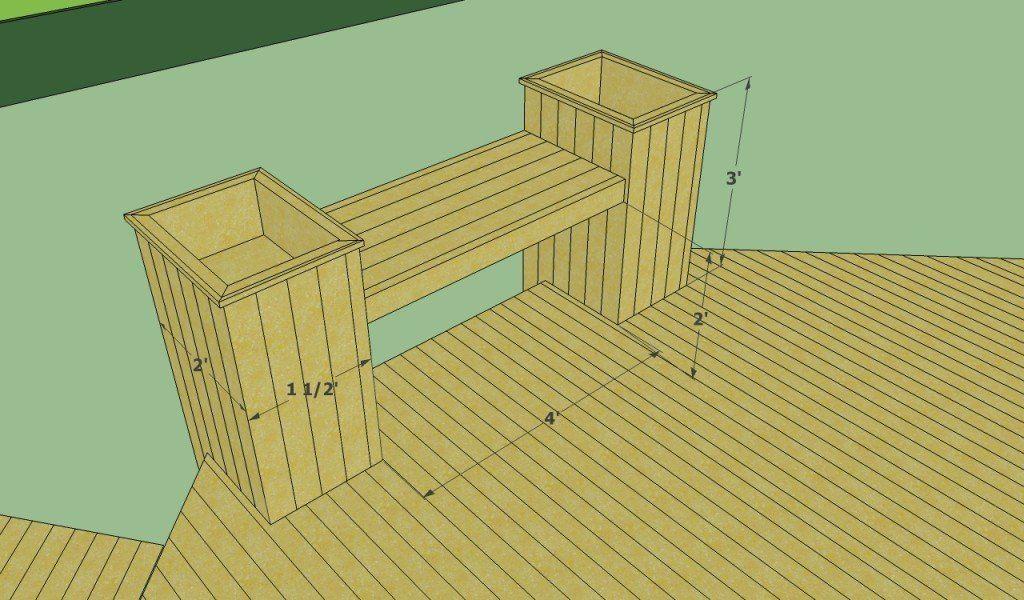 Octagonal Deck Bench In 2020 Floating Deck Plans Floating Deck Deck Plans