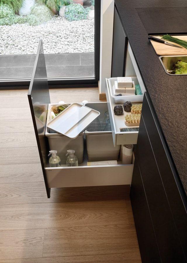 Cajones que ayudan a ordenar y organizar tu cocina for Organizar cajones cocina