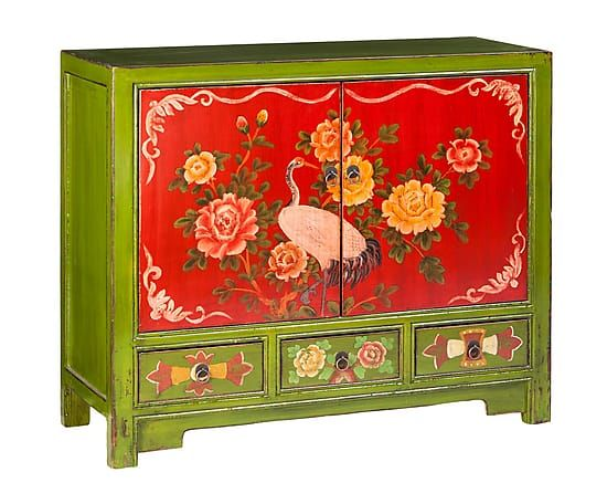 Westwing Home Living Buffet Multicolore Bois