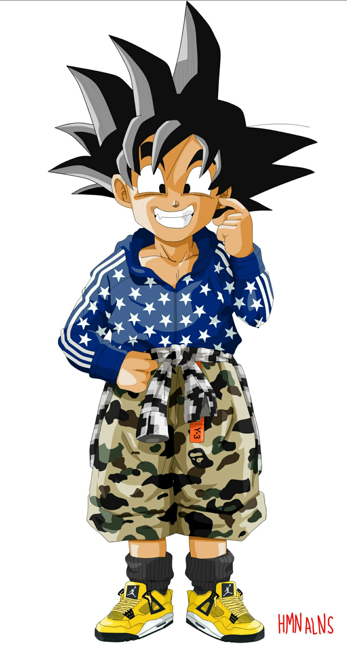 56d4ac24 Best Dragon Ball Hmn Alns Hypebeast images on Designspiration. Dragonball  Fashion Son Goku pic on Design You Trust. Bape x DBZ