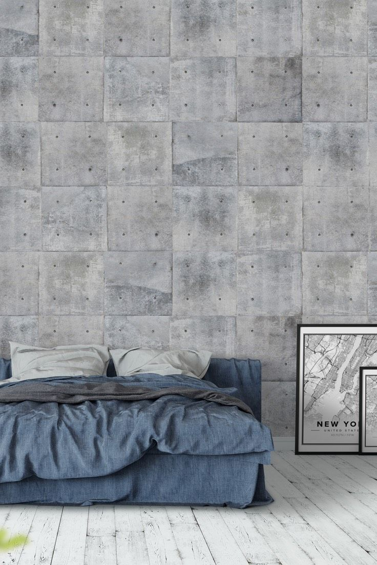 Concrete wall Wall mural Pinterest Concrete walls Wall murals