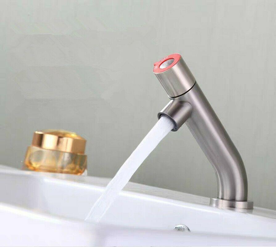 Mode Design Edelstahl Waschtischarmatur Bad Wasserhahn