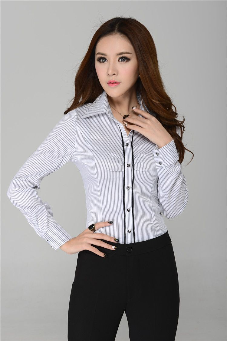 Womens Dress Blouses | CHICAS DE ASIA | Pinterest | Business ...