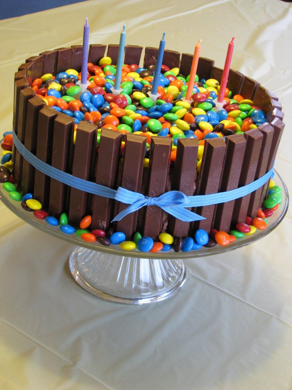 Image Result For Birthday Cake Made Of Candy Boxes
