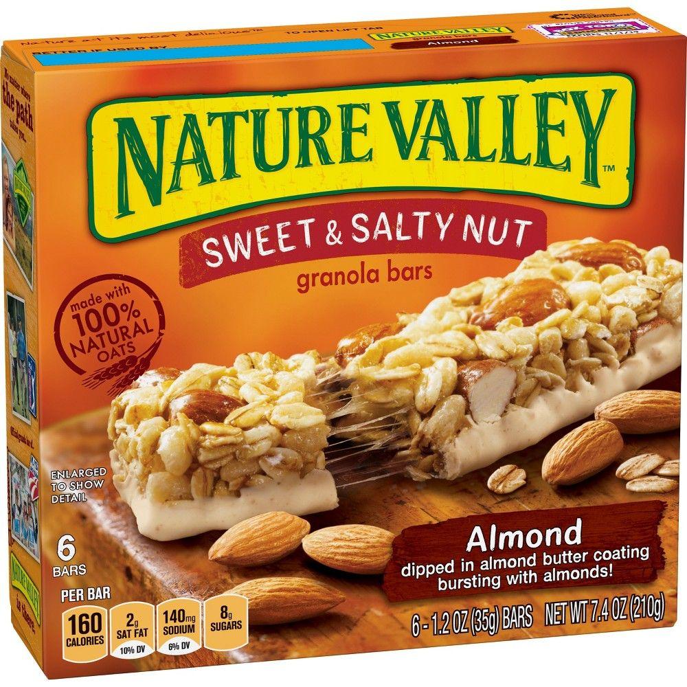 Nature Valley Sweet Salty Nut Almond Granola Bars 6ct Granola Bars