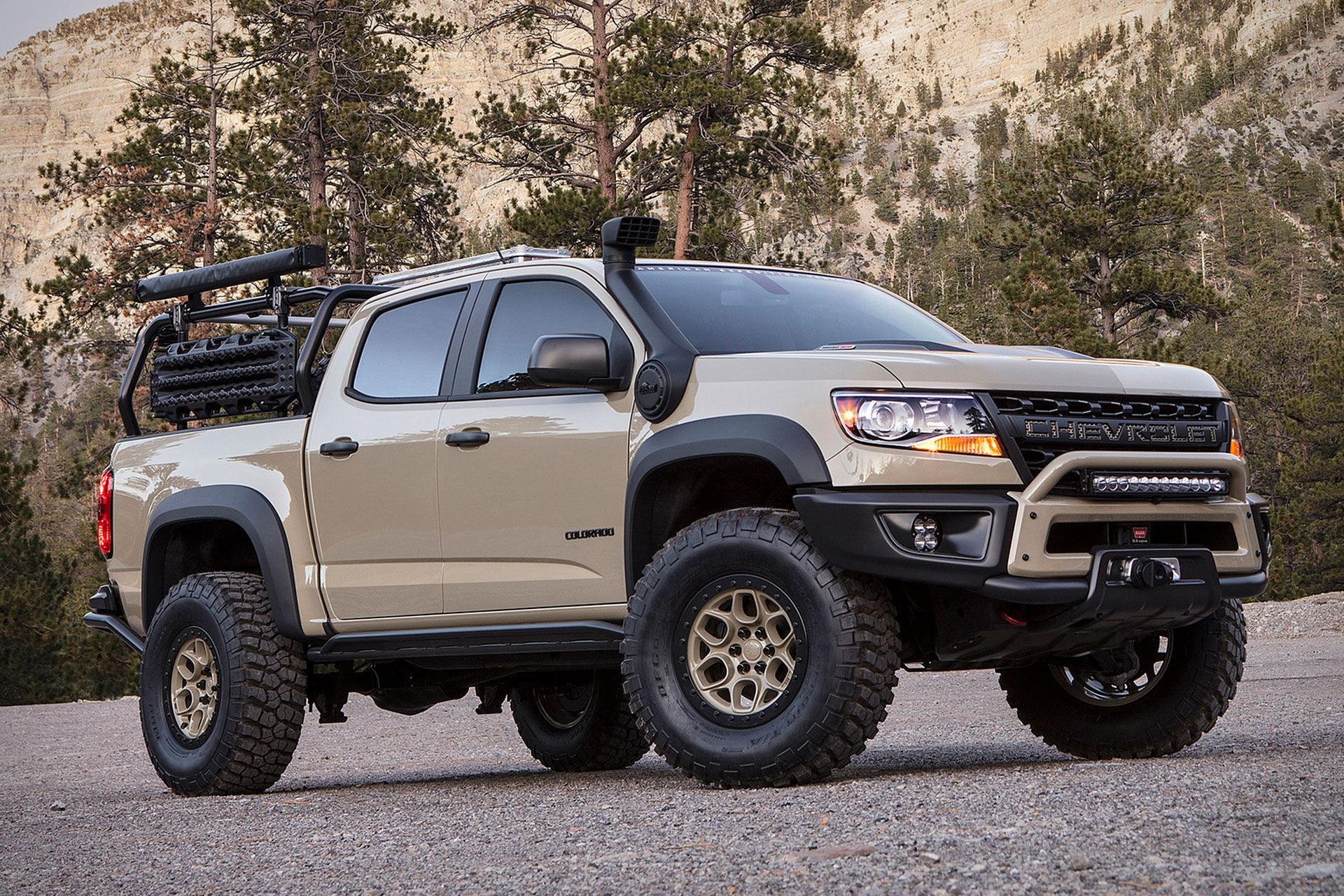 Chevrolet Colorado Zr2 Aev Concept Truck Gmc Trucks Nissan