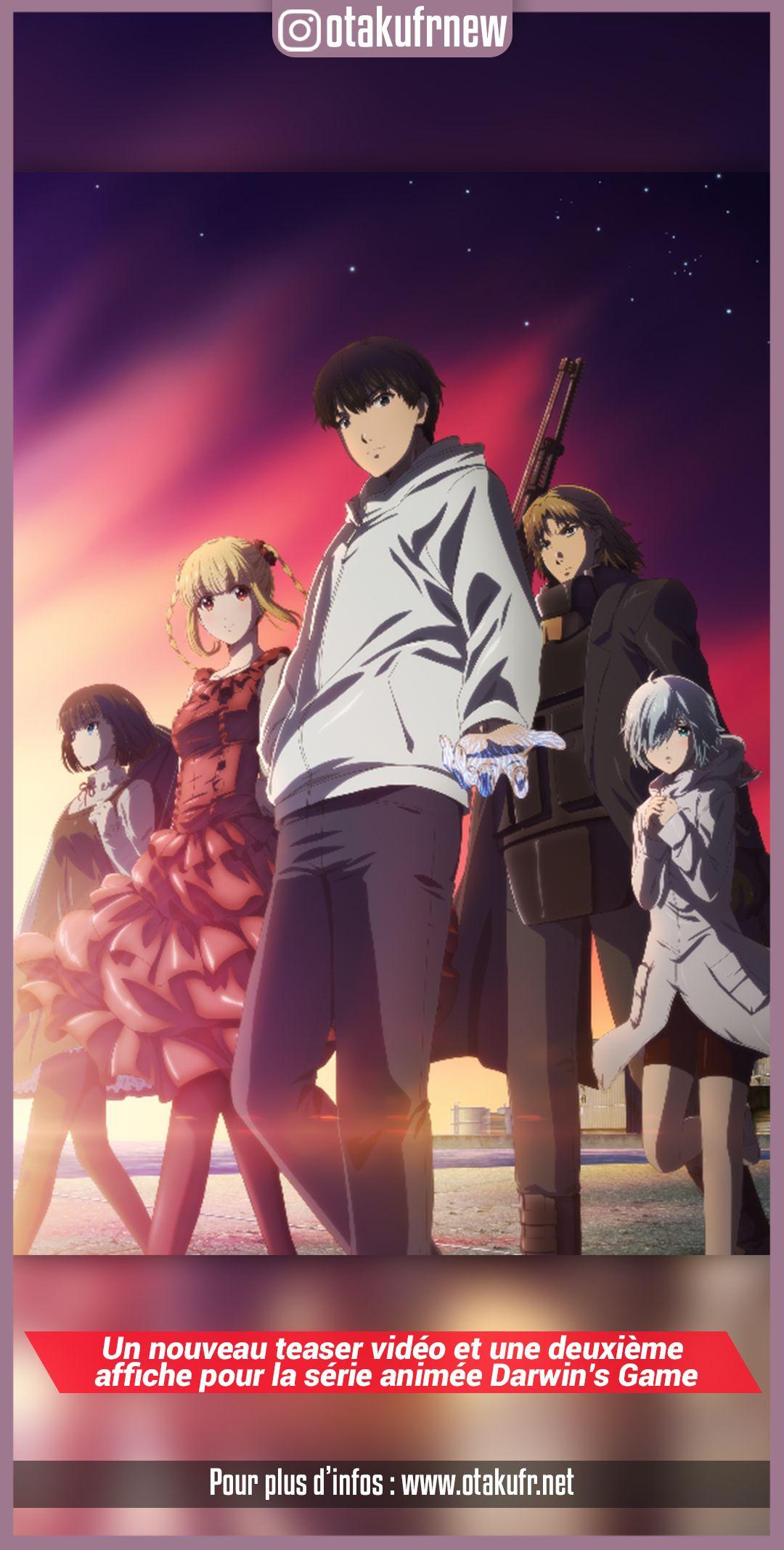 anime, anime wallpapers, darwins game, manga, anime news